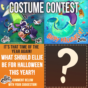 IT'S TIME FOR THE ELLIE COSTUME CONTEST!